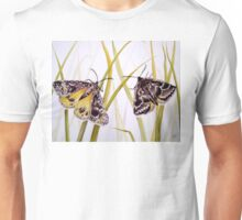 Endangered Golden Sun Moths Watercolour Painting Unisex T-Shirt