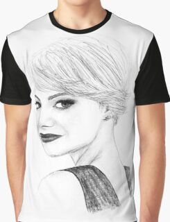 Emma Drawing Graphic T-Shirt