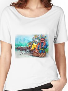 A pair of giant puppets Women's Relaxed Fit T-Shirt