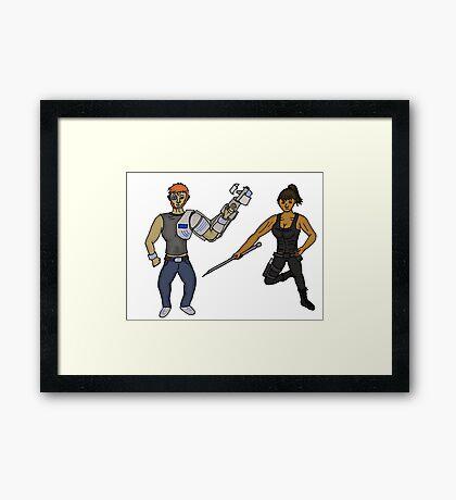 Tk Cannon Framed Print