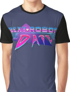 Sexy Robot Date Graphic T-Shirt
