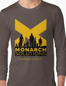 "Quantum Break - Monarch Solutions ""Guarding Your Future"" Long Sleeve T-Shirt"
