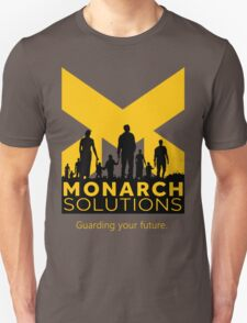 "Quantum Break - Monarch Solutions ""Guarding Your Future"" Unisex T-Shirt"