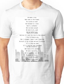 One Direction - Long Way Down Unisex T-Shirt