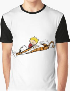 calvin and hobbes pure best friend Graphic T-Shirt