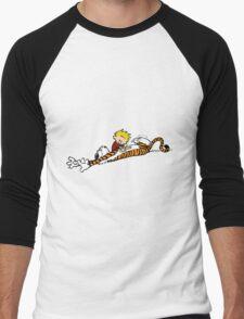 calvin and hobbes pure best friend Men's Baseball ¾ T-Shirt