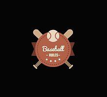 Baseball Rules by Albert  Robbins