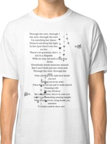One Direction - What A Feeling  Classic T-Shirt
