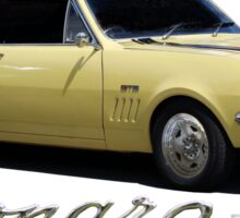 max monaro Sticker