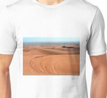 Sand dunes in the desert. Unisex T-Shirt