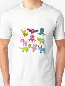 Funny monsters Unisex T-Shirt