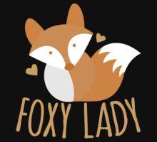 Foxy lady super cute kawaii foxy One Piece - Short Sleeve