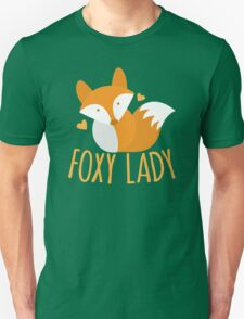 Foxy lady super cute kawaii foxy Unisex T-Shirt