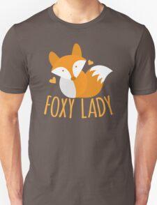 Foxy lady super cute kawaii foxy Unisex T-Shirt