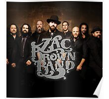 ZAC BROWN BAND CREW Poster
