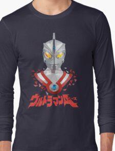 LOW POLYGON PORTRAIT - ULTRAMAN ACE VER 2 Long Sleeve T-Shirt