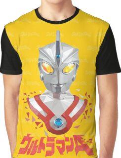 LOW POLYGON PORTRAIT - ULTRAMAN ACE VER 2 Graphic T-Shirt