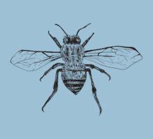 Bee Study One Piece - Short Sleeve