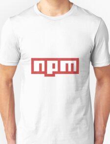NPM JS Unisex T-Shirt