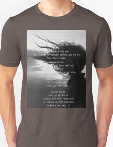 One Direction - Walking In The Wind  Unisex T-Shirt