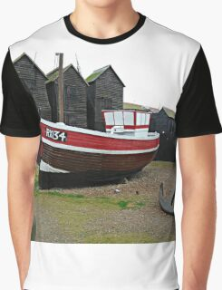 Old Town Hastings. Graphic T-Shirt