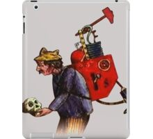 Who are you to wave your finger? iPad Case/Skin