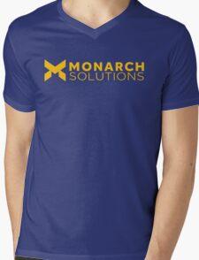 Quantum Break - Monarch Solutions Mens V-Neck T-Shirt