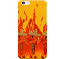 Burning Cowboys iPhone Case/Skin
