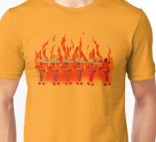 Burning Cowboys Unisex T-Shirt