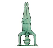 Toy soldier yoga Photographic Print
