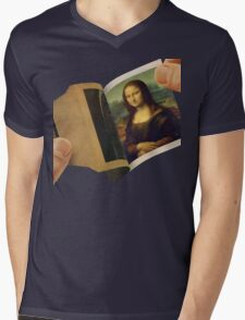 Polaroid Mens V-Neck T-Shirt