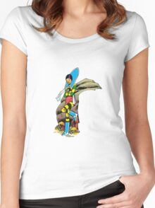 Musky Women's Fitted Scoop T-Shirt