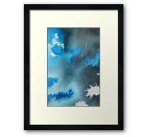 Storm (Abstract Ink) 1 Framed Print
