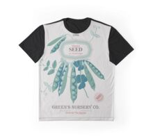 Veg Love Collection No.6 Bean Graphic T-Shirt