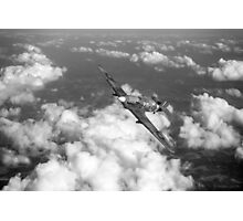 Hawker Hurricane IIB of 174 Squadron B&W version Photographic Print