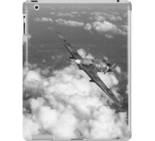 Hawker Hurricane IIB of 174 Squadron B&W version iPad Case/Skin