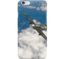 Hawker Hurricane IIB of 174 Squadron iPhone Case/Skin