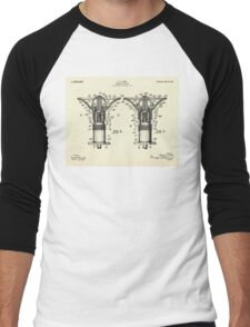 Drinking Fountain-1912 Men's Baseball ¾ T-Shirt