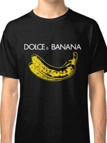 Dolce & Banana - Bananas Lovers Fruitarians Vegan Fashion  Tee / Sticker Classic T-Shirt