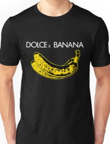 Dolce & Banana - Bananas Lovers Fruitarians Vegan Fashion  Tee / Sticker Unisex T-Shirt