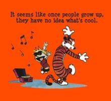 Calvin And Hobbes Dance Kids Tee