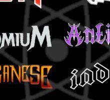 The Heavy Metals Festival Sticker
