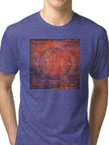 Desert Crop Circle Tri-blend T-Shirt