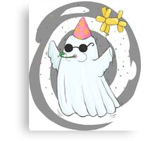 Party Ghost Canvas Print
