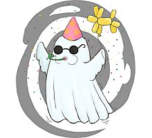 Party Ghost Photographic Print