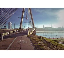 Riga in the morning Photographic Print