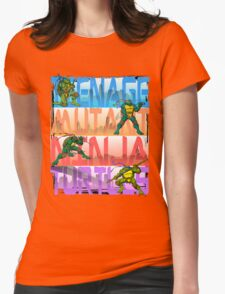 "TMNT ""New York"" Womens Fitted T-Shirt"