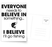 Fishing Funny Postcards