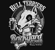 Bull terrier Backyard Brew Unisex T-Shirt