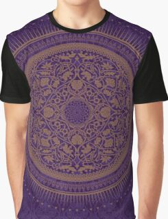Indigo Home Medallion  Graphic T-Shirt